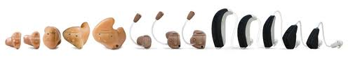Line up of Resound Hearing Aids
